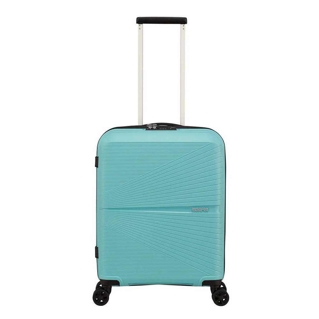 American Tourister  trolley Airconic Spinner 55 cm. blauw, Blauw