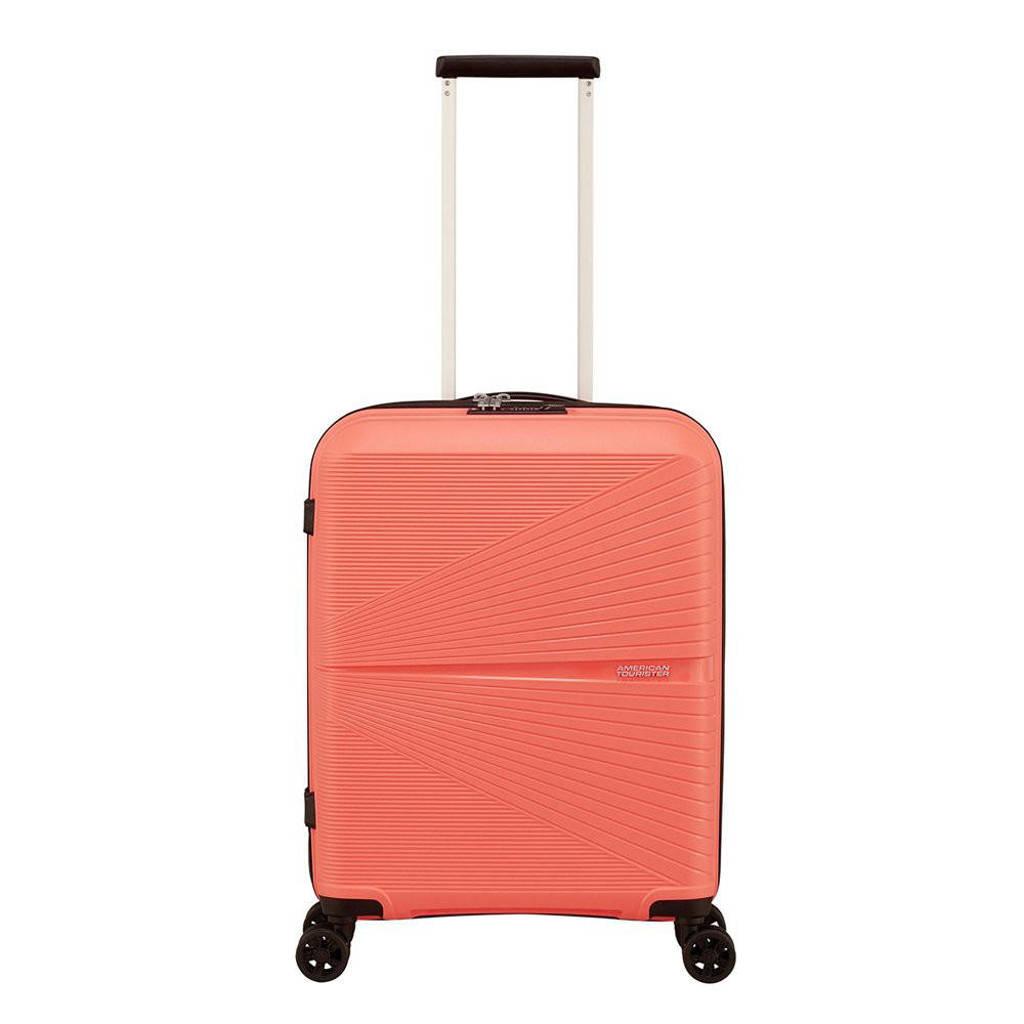 American Tourister  trolley Airconic Spinner 55 cm. koraalrood, Oranje