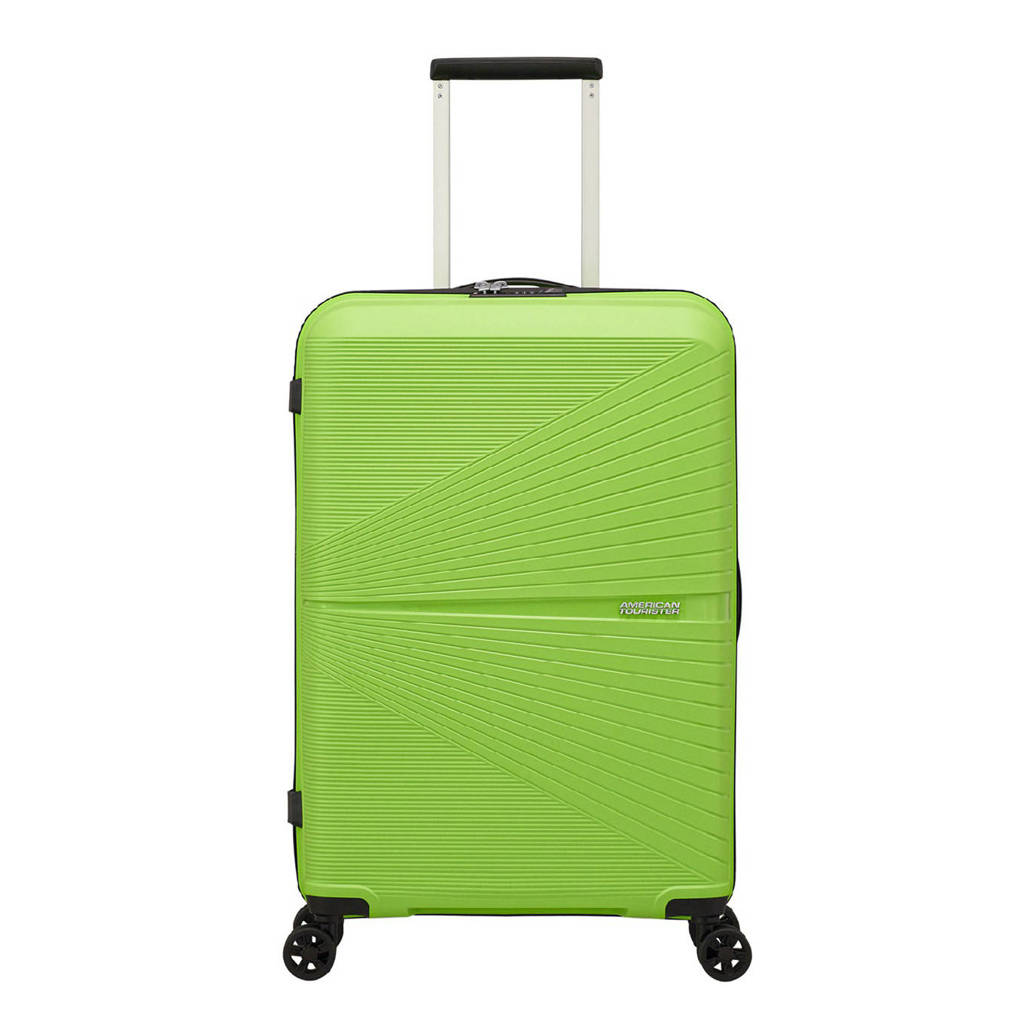 American Tourister  trolley Airconic Spinner 67 cm. groen, Groen
