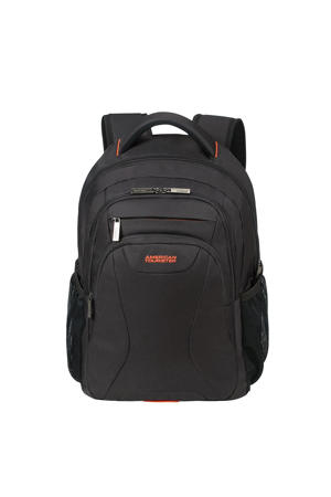 "15.6 At Work Laptop Backpack 15.6"" zwart/oranje"