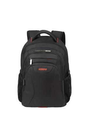 15.6 inch At Work Laptop Backpack zwart/oranje