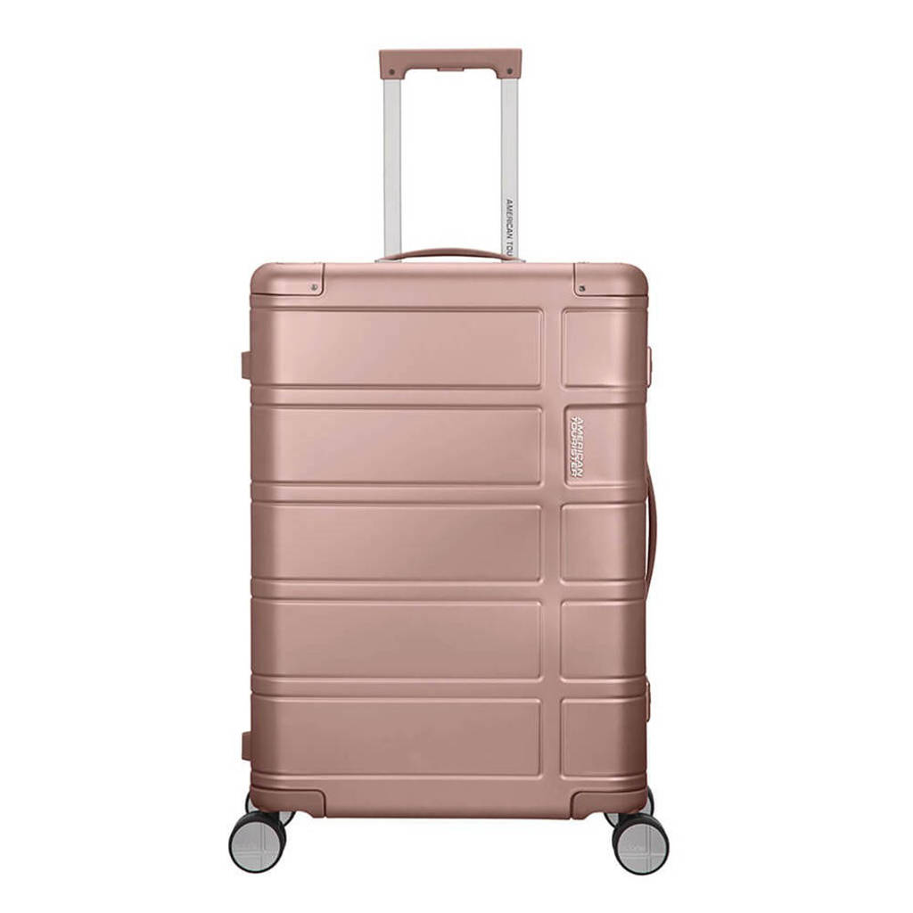 American Tourister  trolley Alumo Spinner 67 cm. roze, Rose