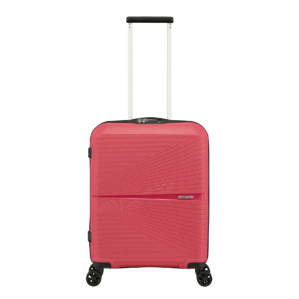 American Tourister  trolley Airconic Spinner 55 cm. roze, Roze
