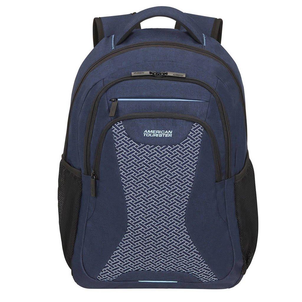 American Tourister  15.6 inch laptop rugzak At Work donkerblauw, Blauw