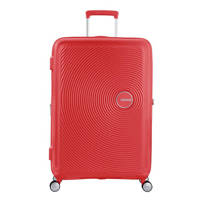 American Tourister  trolley Soundbox Spinner 77 cm. Expandable koraalrood, Rood