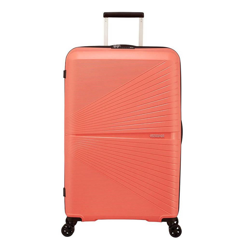 American Tourister  trolley Airconic Spinner 77 cm. koraalrood, Oranje