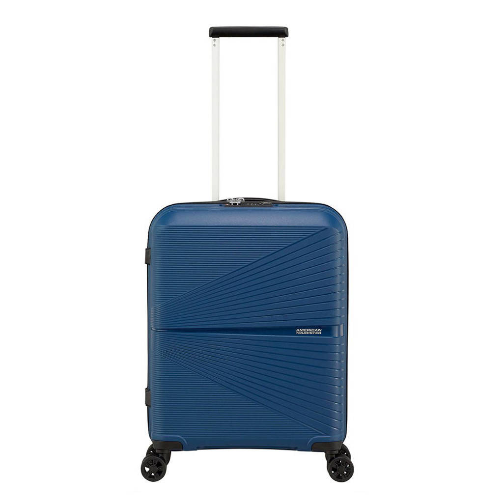 American Tourister  trolley Airconic Spinner 55 cm. donkerblauw, Blauw