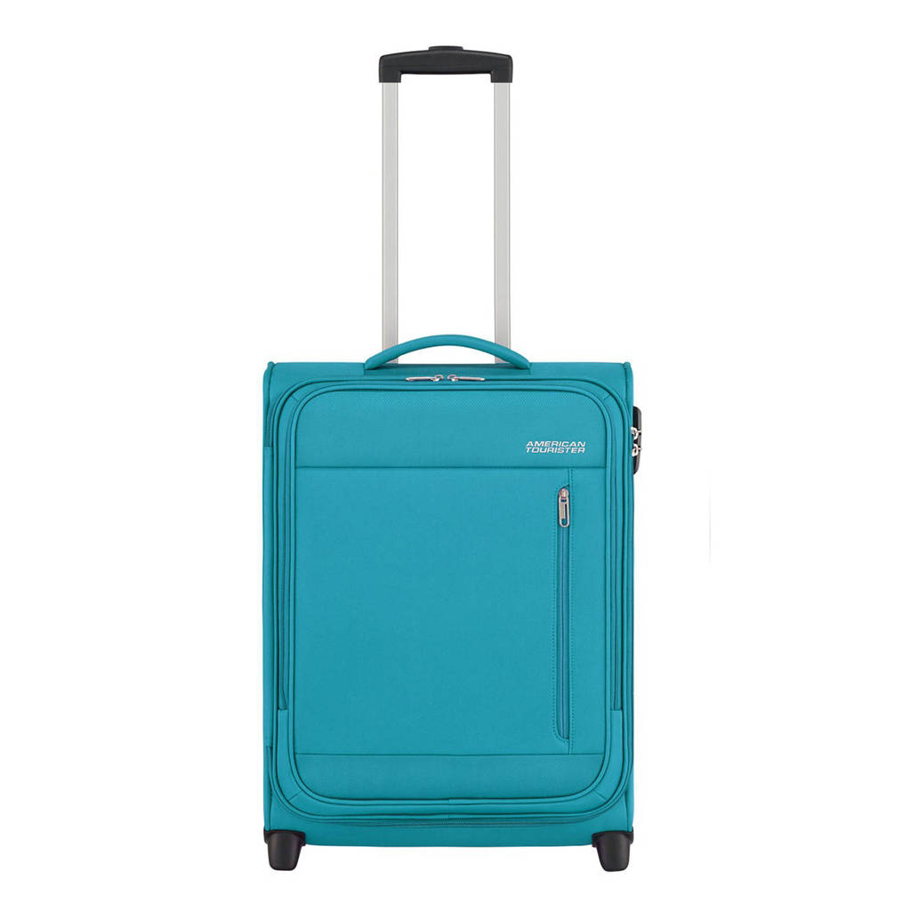 American Tourister  trolley Heat Wave Upright 55 cm. blauw, Blauw