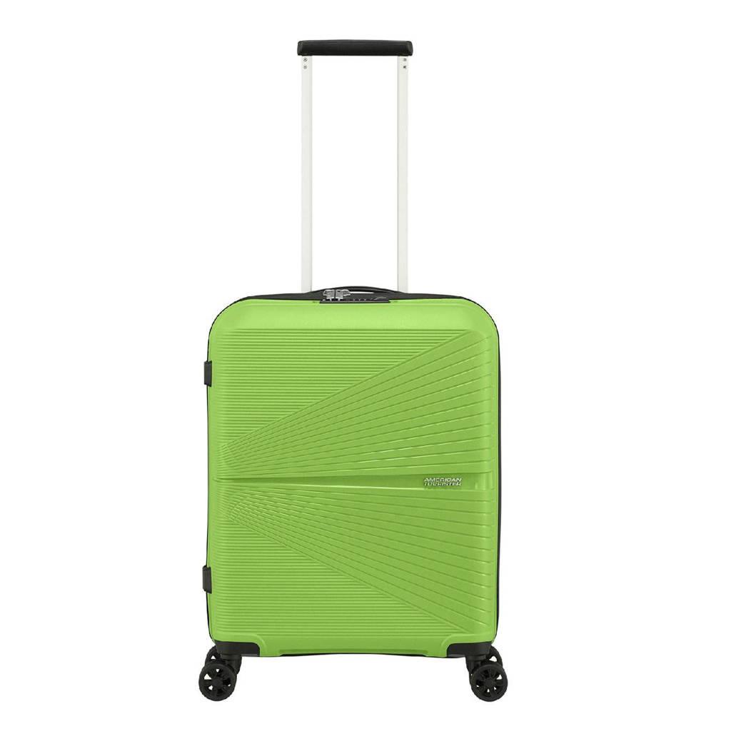 American Tourister  trolley Airconic Spinner 55 cm. groen, Groen