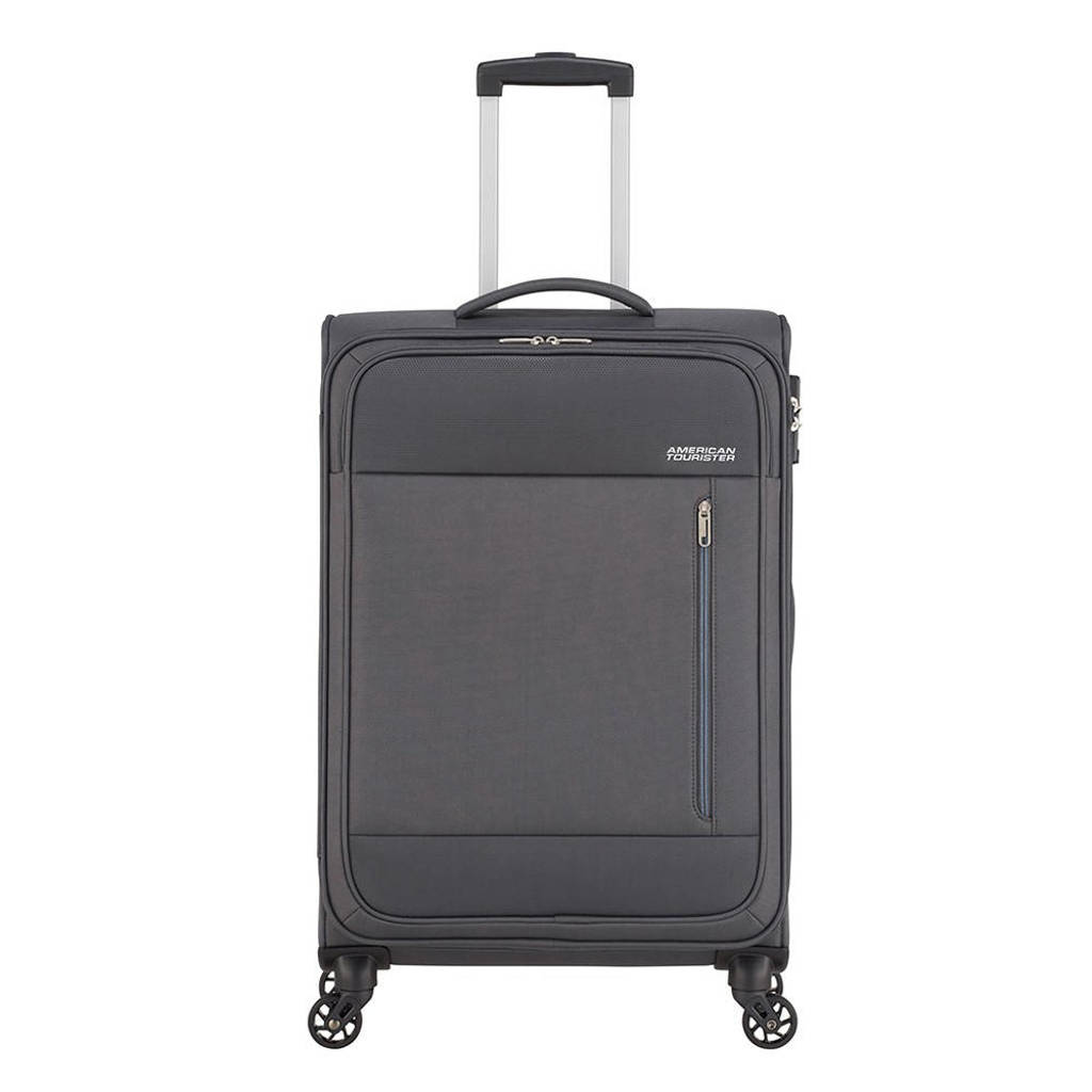 American Tourister  trolley Heat Wave Spinner 68 cm. antraciet, Grijs