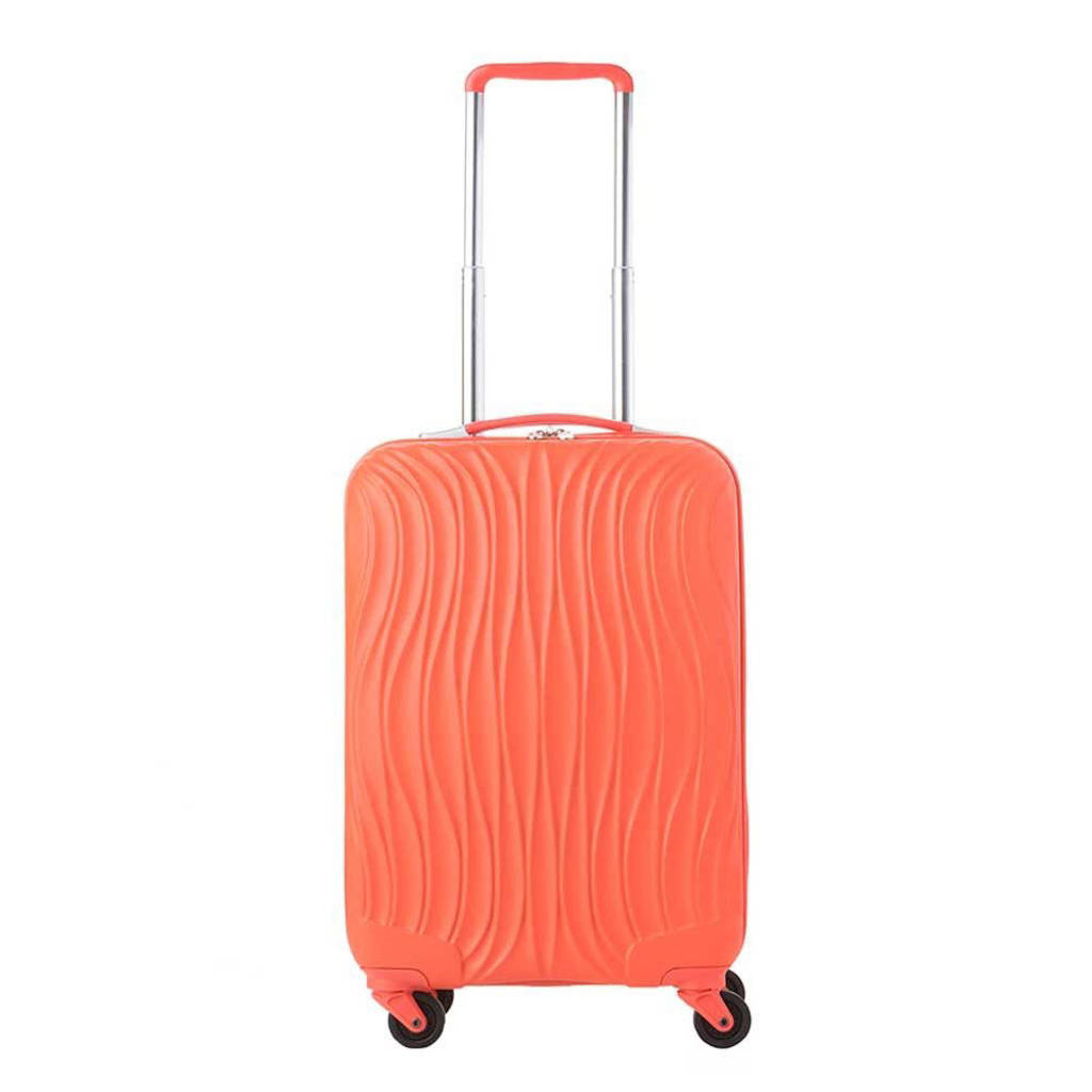 CarryOn  trolley Wave 55 cm. koraalrood, Oranje