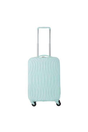 Wave Koffer 55 mintgroen