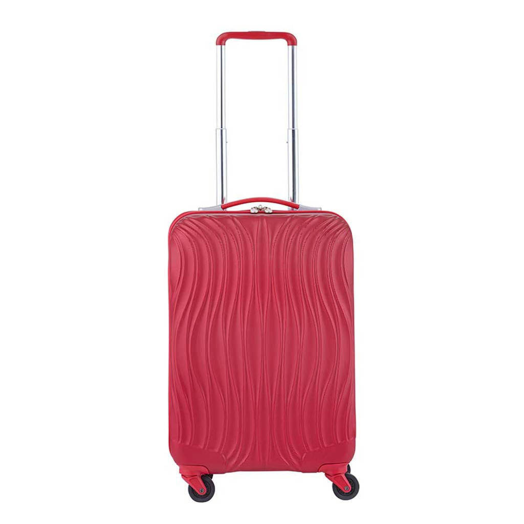 CarryOn  trolley Wave 55 cm. rood, Rood