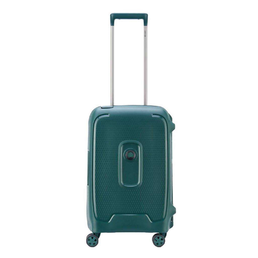 Delsey  trolley Moncey 55 cm. groen, Groen