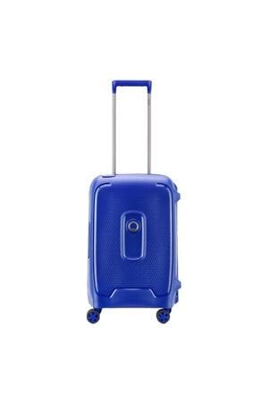 Moncey 4 Wheel Cabin Trolley 55 blauw