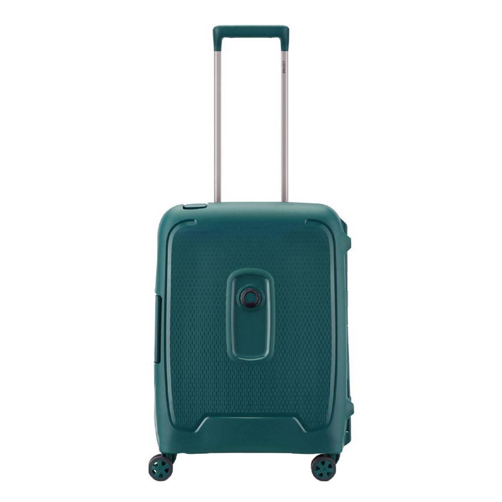 Delsey  trolley Moncey 55 cm. Slim groen, Groen