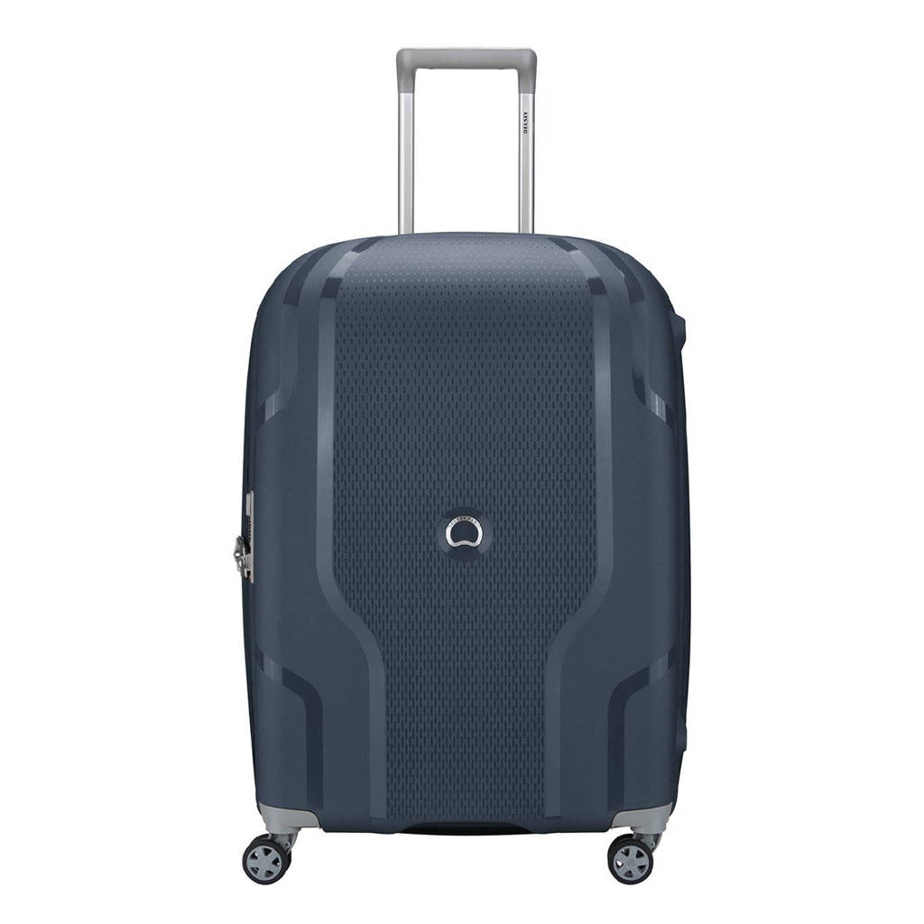 Delsey  trolley Clavel 70 cm. Expandable blauw, Blauw