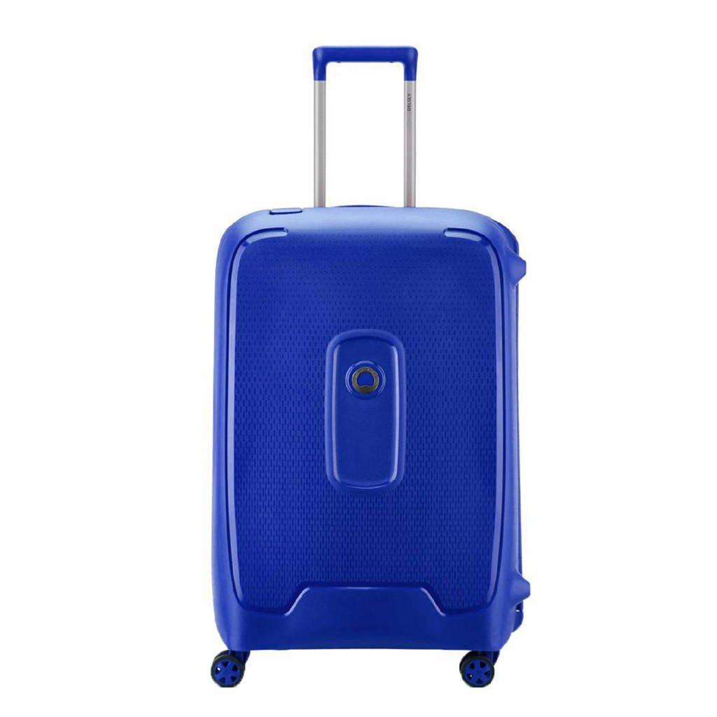 Delsey  trolley Moncey 70 cm. blauw, Blauw