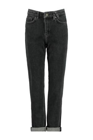 high waist tapered fit jeans Jadan zwart