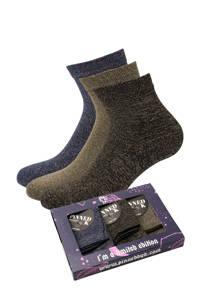 Pinned by K giftbox sokken - set van 3 multi, Multi