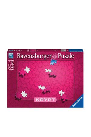 Krypt pink  legpuzzel 654 stukjes