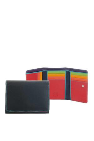 Unisex Medium Tri-Fold Wallet zwart