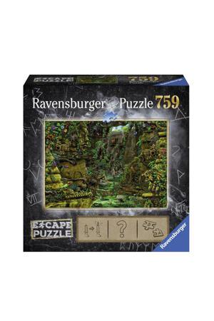 Escape puzzel - Tempel Ankor Wat  legpuzzel 759 stukjes