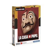 Clementoni La Casa de Papel Dali  legpuzzel 1000 stukjes