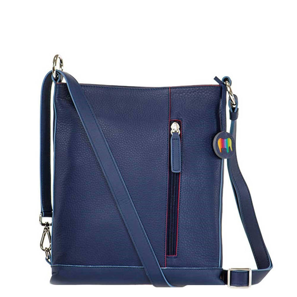 Mywalit  Zurich Cross Body blauw, Blauw