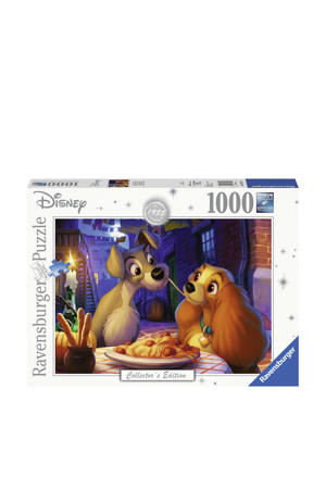 Disney Lady and the Tramp  legpuzzel 1000 stukjes