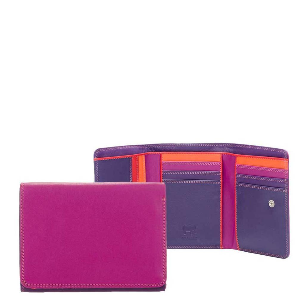 Mywalit Unisex Medium Tri-fold Wallet rood multi, Multicolor