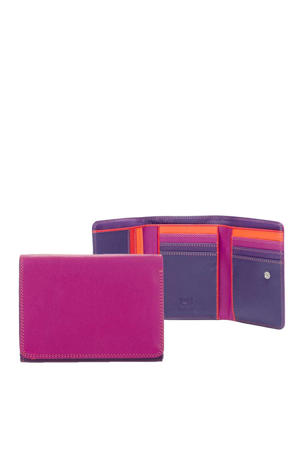 Unisex Medium Tri-fold Wallet rood multi