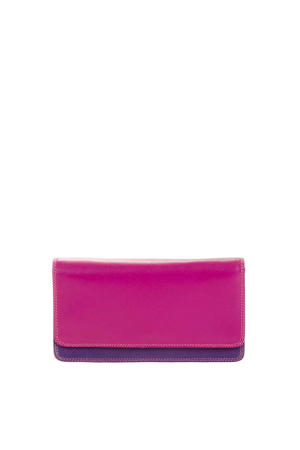 Ladies Medium Matinee Purse Wallet rood multi