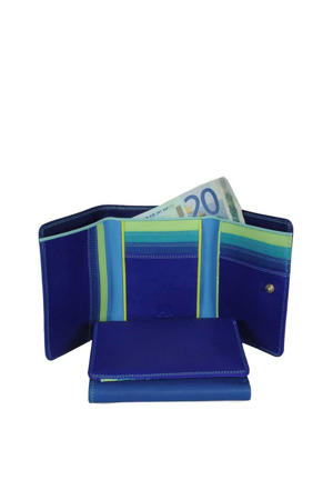 Unisex Medium Tri-Fold Wallet blauw