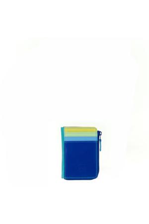 Ladies Zip Purse ID Holder blauw