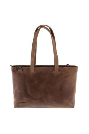 15,6 inch leren business tas Pure Rutland bruin
