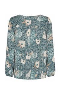 Soyaconcept blouse SC-DALLAS 1 met all over print groen, Groen