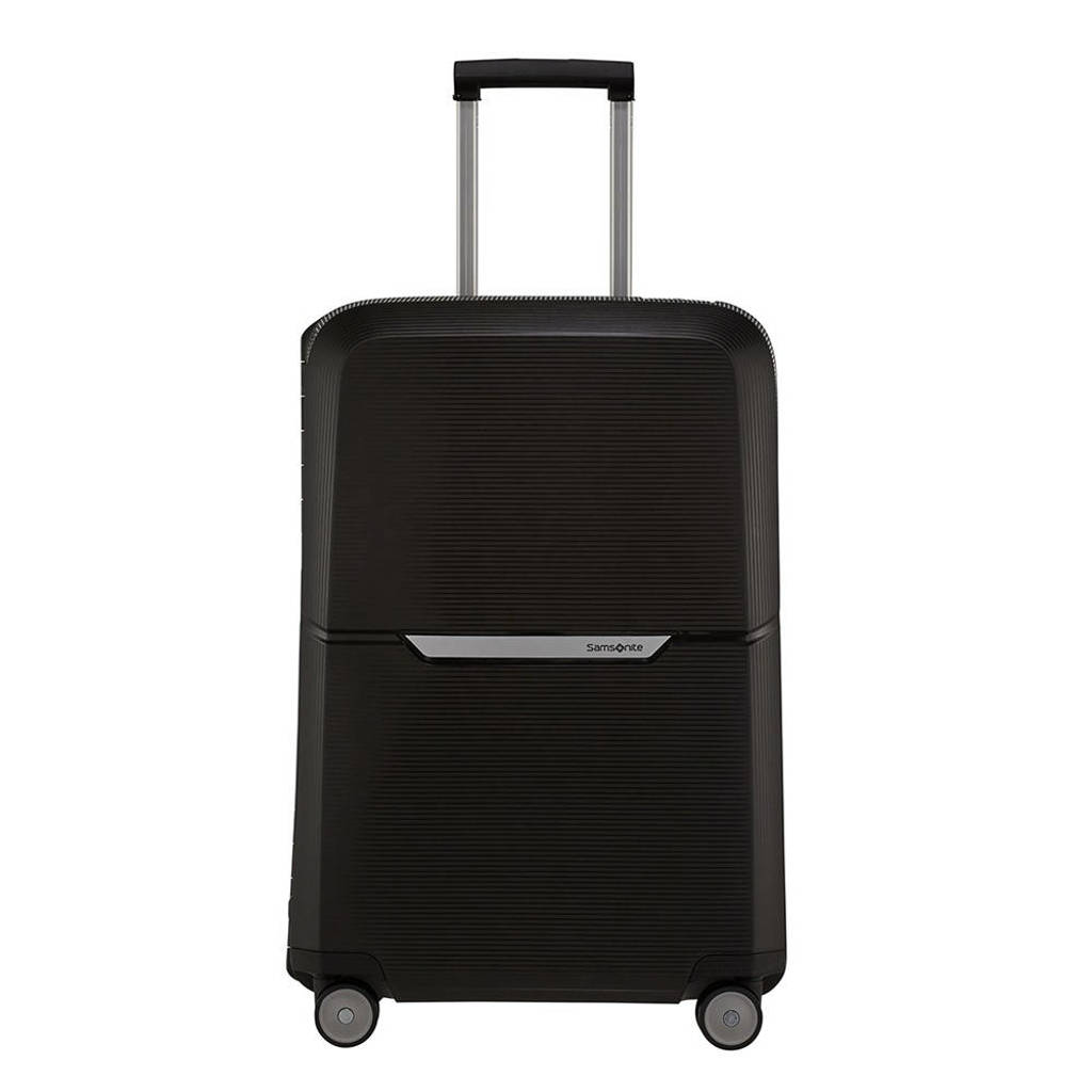 Samsonite  trolley Magnum Spinner 69 cm. zwart, Zwart