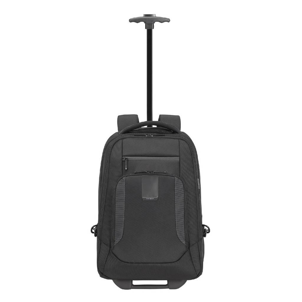 Samsonite  Cityscape Evo Laptop Backpack / Wheels 15.6'' zwart, Zwart