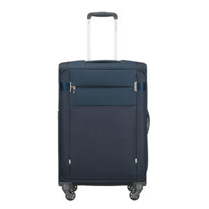 trolley Citybeat Spinner 66 cm. Expandable donkerblauw