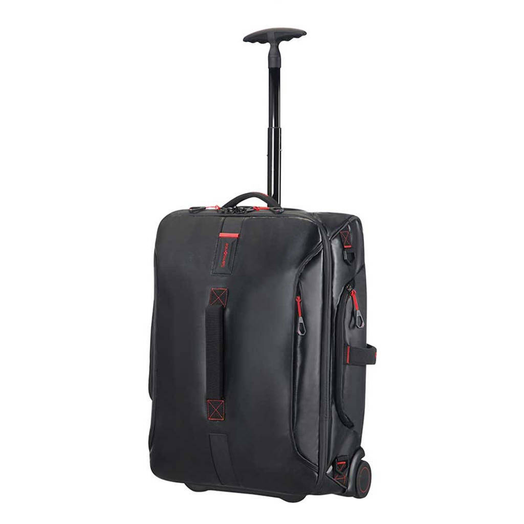 Samsonite  Paradiver Light Duffle Wheels Strict Cabin 55 zwart, Zwart