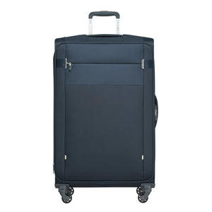 trolley Citybeat Spinner 78 cm. Expandable donkerblauw