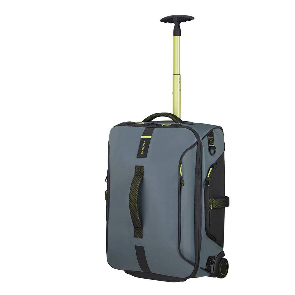 Samsonite  Paradiver Light Duffle Wheels Backpack 55 grijs, Grijs