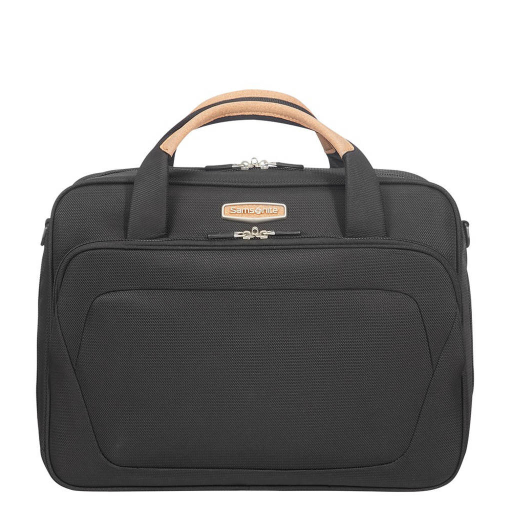 Samsonite  Spark SNG Eco Schoulder Bag eco zwart, Zwart