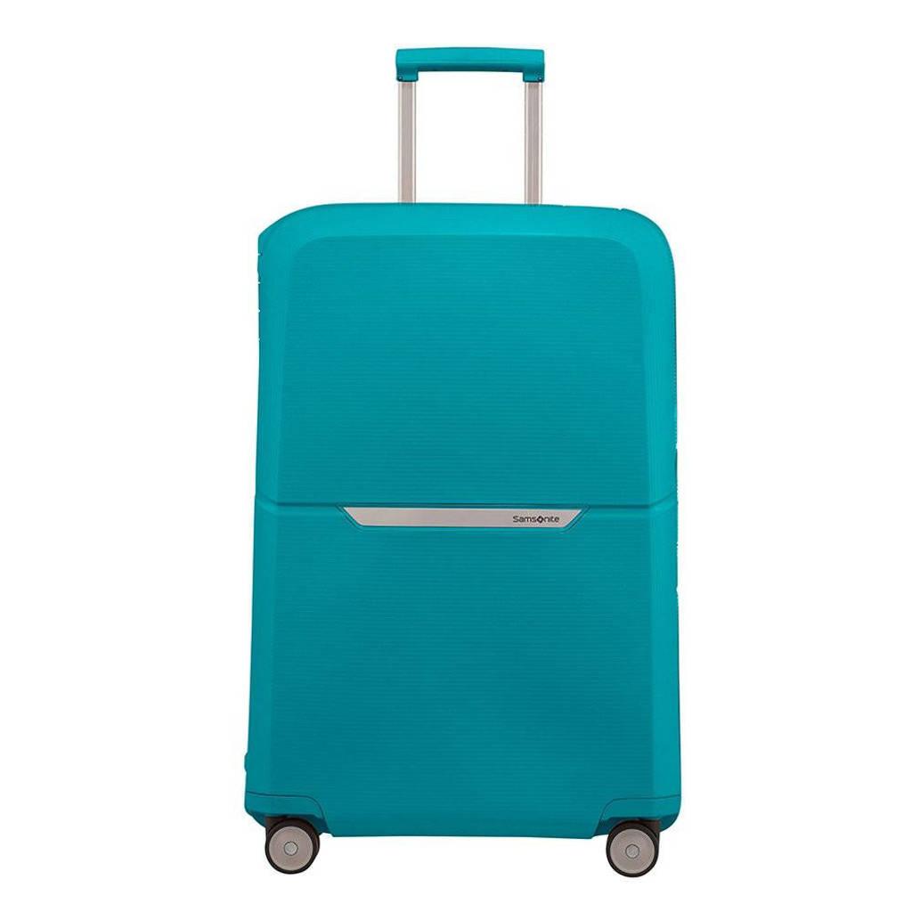Samsonite  trolley Magnum Spinner 75 cm. blauw, Blauw