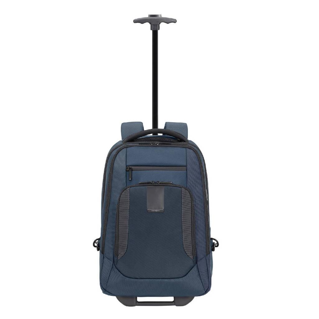 Samsonite  Cityscape Evo Laptop Backpack / Wheels 15.6'' blauw, Blauw