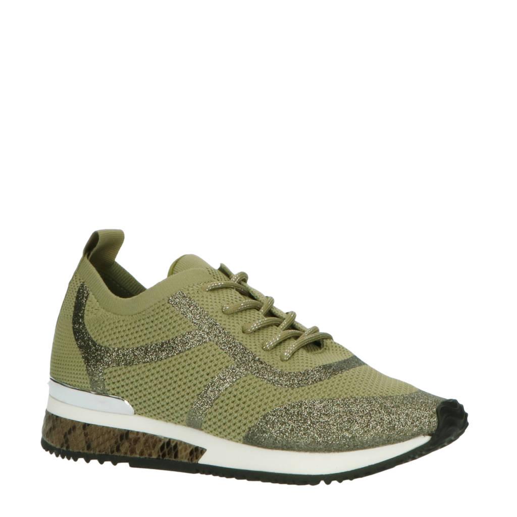 La Strada   sneakers groen, Groen/Kaki