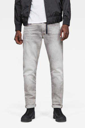 tapered fit jeans 3301 light aged