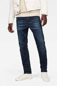 G-Star RAW slim fit jeans 3301 ultra aged, Ultra dark aged blue