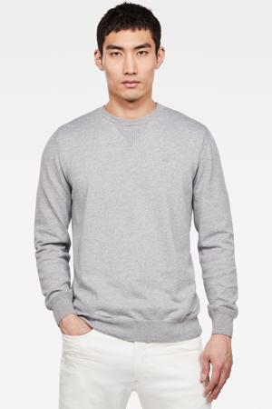 trui van biologisch katoen grijs